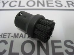 Пароочиститель Karcher комплектуется точечной насадкой со щетинкой