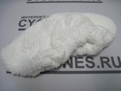 Пароочиститель Karcher комплектуется чехлом из махровой ткани на ручную насадку для чувствительных поверхностей (крашенные стены, обои)
