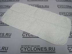 Пароочиститель Karcher комплектуется тканью одевающейся на насадку для полов