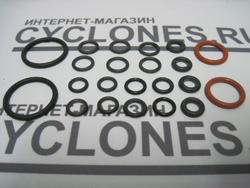 Комплект прокладок на пароочиститель SC 2