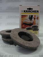 Насадка войлочная для полотера Karcher (3шт)