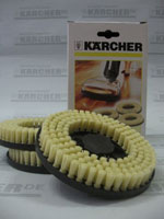 Насадка щеточная жесткая для полотера Karcher (3шт)